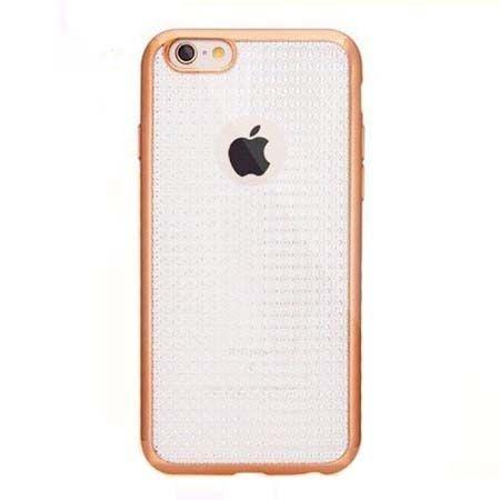 Etui na iPhone 6 / 6s silikonowe platynowane Blink - złote. PROMOCJA!!!