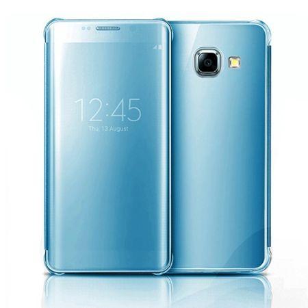 Galaxy A3 2016r etui Flip Clear View błękitne z klapką.