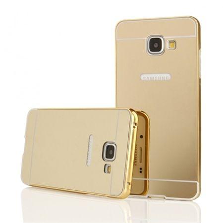 Mirror bumper case na Galaxy A5 2016r - Złoty