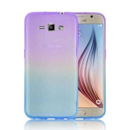Galaxy J1 2016r silikonowe etui ultra slim Ombre.