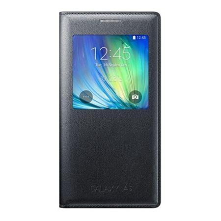 Etui na Galaxy A5 2016r - flip S-View z klapką - Czarny