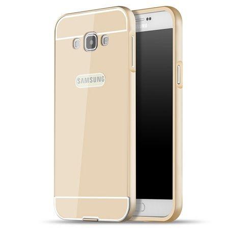 Galaxy J5 2016r etui aluminium bumper case złoty.