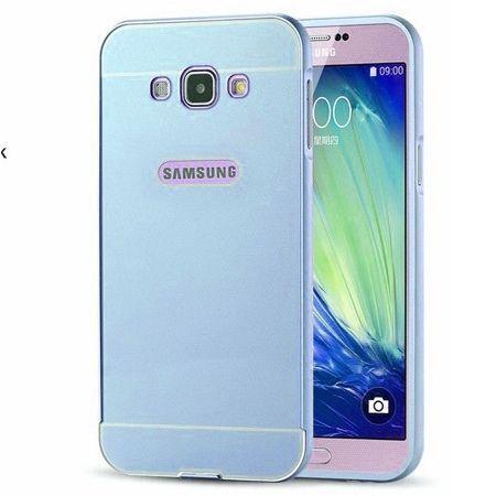 Galaxy J5 2016r etui aluminium bumper case niebieski.