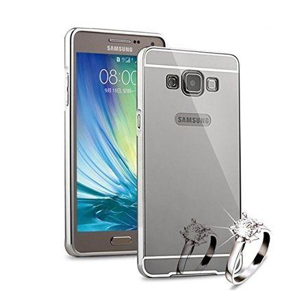 Mirror bumper case na Galaxy J5 2016r  - Srebrny