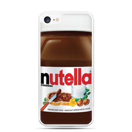 Etui na telefon iPhone 7 - Nutella czekolada słoik