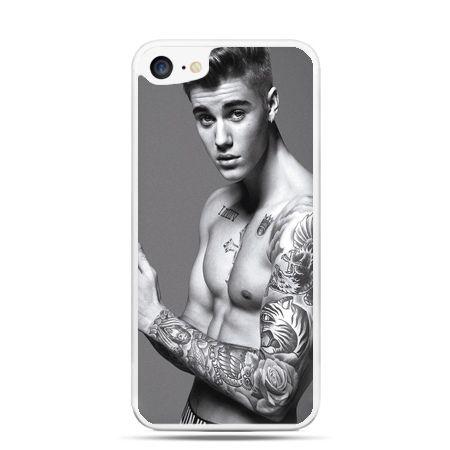 Etui na telefon iPhone 7 - Justin Bieber w tatuażach