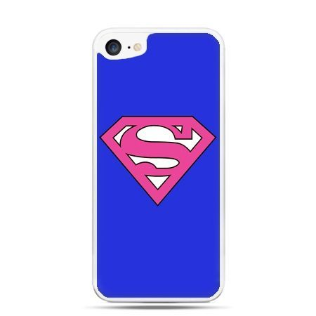 Etui na telefon iPhone 7 - Supergirl