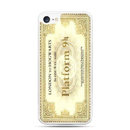 Etui na telefon iPhone 7 - bilet platform 9 3/4 Harry Potter
