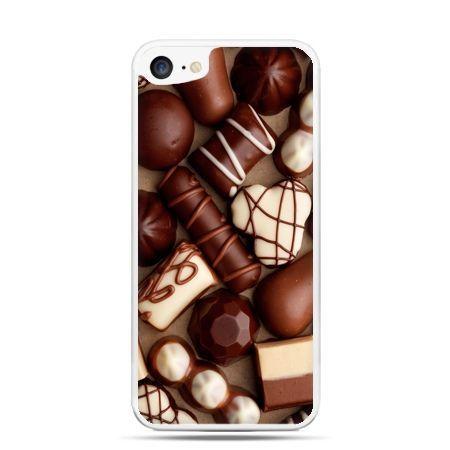 Etui na telefon iPhone 7 - czekoladki