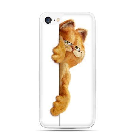 Etui na telefon iPhone 7 - Kot Garfield