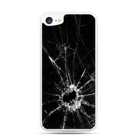 Etui na telefon iPhone 7 - rozbita szyba
