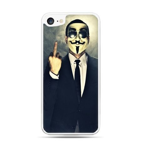Etui na telefon iPhone 7 - Anonimus Fuck You
