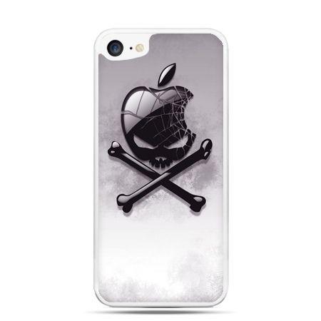 Etui na telefon iPhone 7 - logo Apple czacha