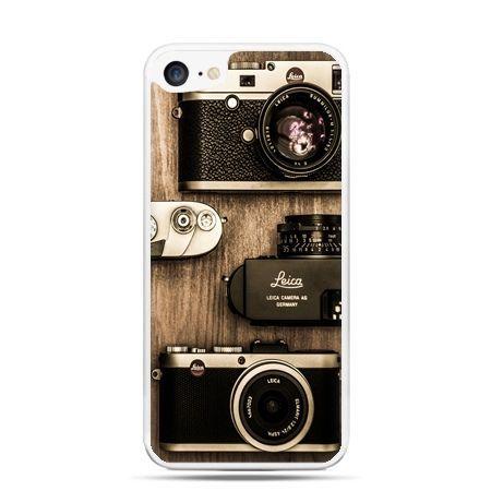 Etui na telefon iPhone 7 - aparaty retro