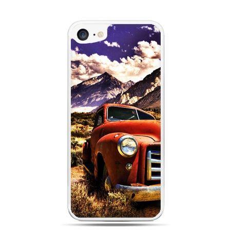 Etui na telefon iPhone 7 - retro pick-up