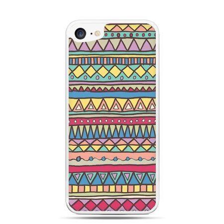 Etui na telefon iPhone 7 - Azteckie wzory