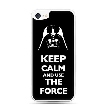 Etui na telefon iPhone 7 - Keep calm and use the force