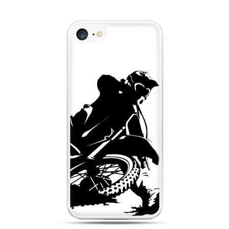 Etui na telefon iPhone 7 - motocykl cross