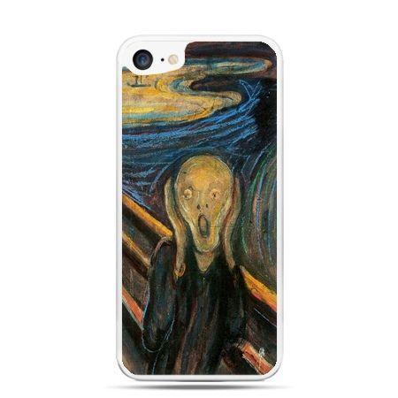 Etui na telefon iPhone 7 - Krzyk Munka