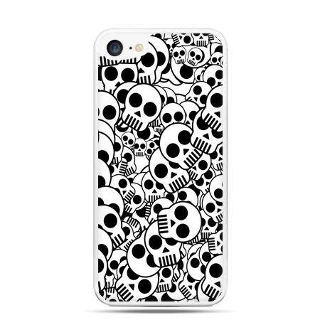 Etui na telefon iPhone 7 - czaszki