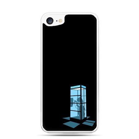 Etui na telefon iPhone 7 - nocna budka telefoniczna