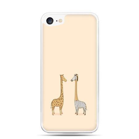 Etui na telefon iPhone 7 - żyrafy