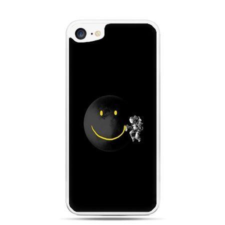 Etui na telefon iPhone 7 - uśmiechnięta planeta