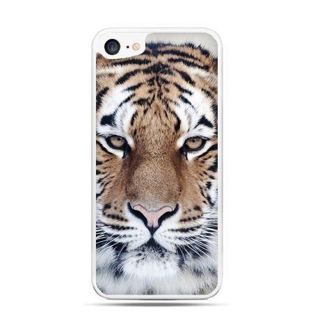 Etui na telefon iPhone 7 - śnieżny tygrys
