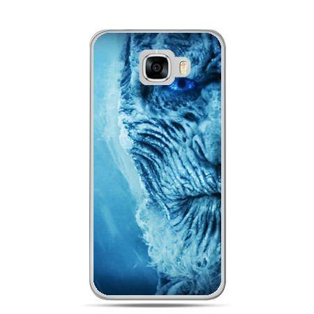 Etui na telefon Samsung Galaxy C7 - Gra o Tron White Walker