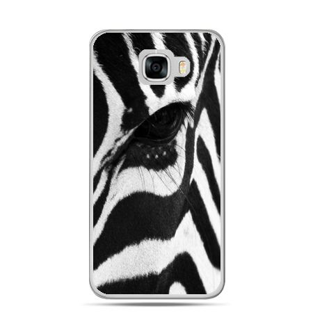 Etui na telefon Samsung Galaxy C7 - zebra
