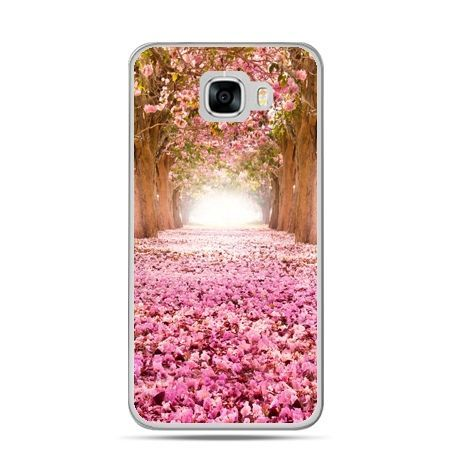 Etui na telefon Samsung Galaxy C7 - spacer po parku