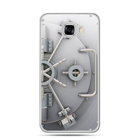 Etui na telefon Samsung Galaxy C7 - sejf
