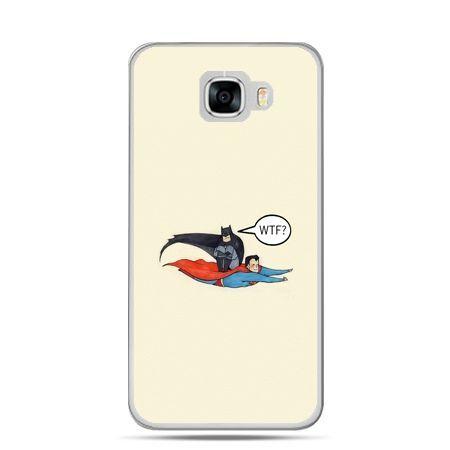 Etui na telefon Samsung Galaxy C7 - Batman