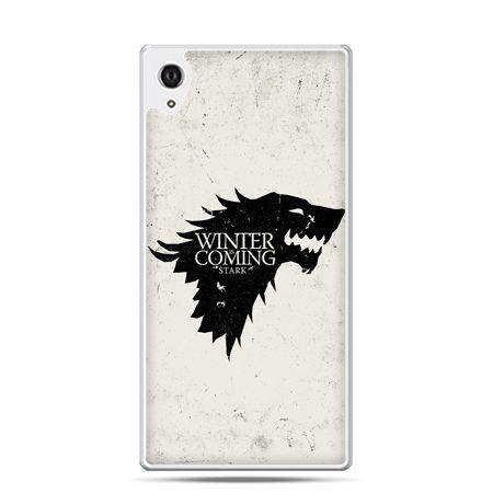 Etui na telefon Sony Xperia XA - Gra o Tron Winter is coming czarna