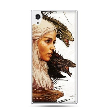 Etui na telefon Sony Xperia XA - Gra o Tron Daenerys Targaryen