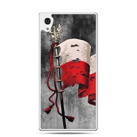 Etui na telefon Sony Xperia XA - patriotyczne flaga Polski