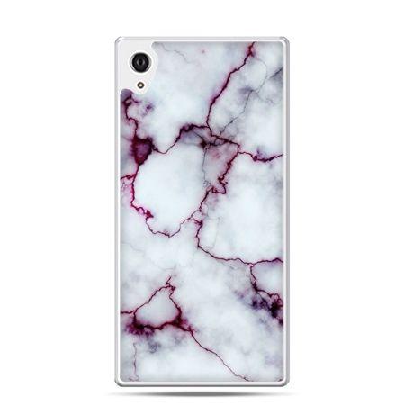 Etui na telefon Sony Xperia XA - różowy marmur