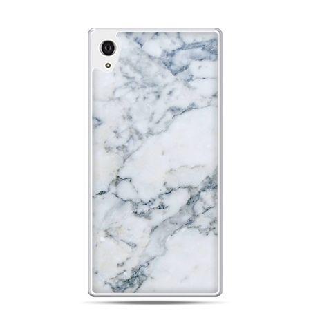 Etui na telefon Sony Xperia XA - biały marmur
