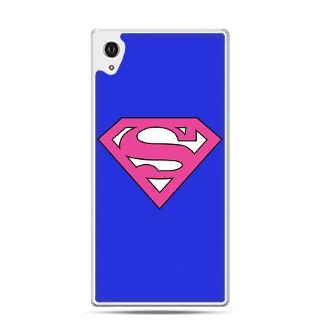 Etui na telefon Sony Xperia XA - Supergirl