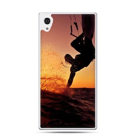 Etui na telefon Sony Xperia XA - surfer