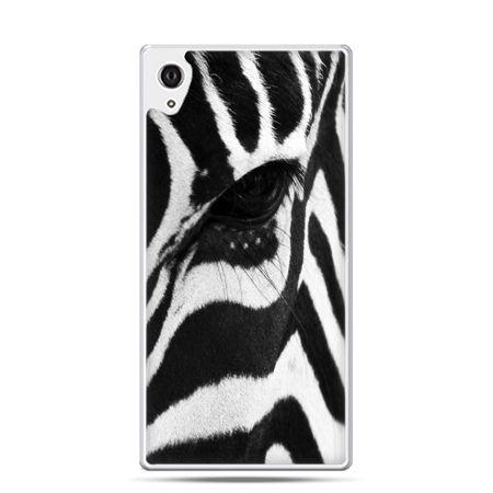 Etui na telefon Sony Xperia XA - zebra
