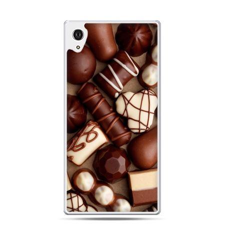 Etui na telefon Sony Xperia XA - czekoladki
