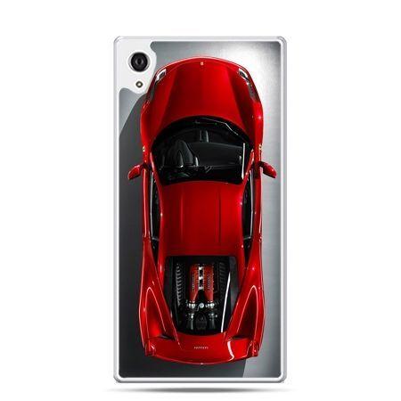 Etui na telefon Sony Xperia XA - czerwone Ferrari