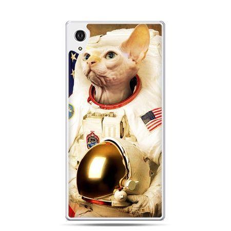 Etui na telefon Sony Xperia XA - kot astronauta