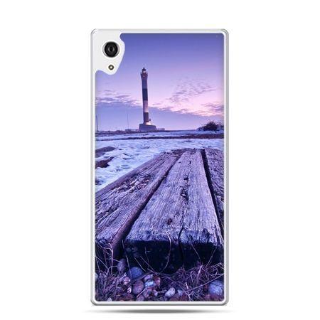 Etui na telefon Sony Xperia XA - latarnia morska zmierzch