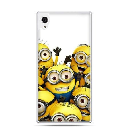 Etui na telefon Sony Xperia XA - Minionki