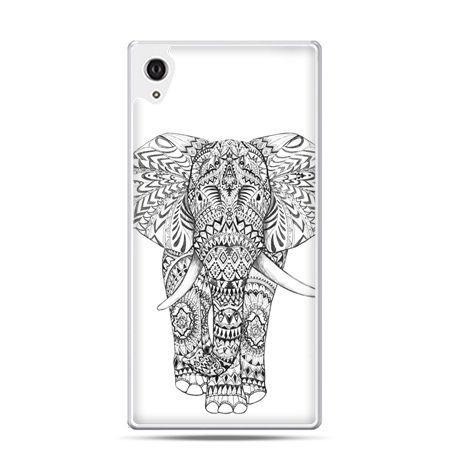 Etui na telefon Sony Xperia XA - Indyjski słoń