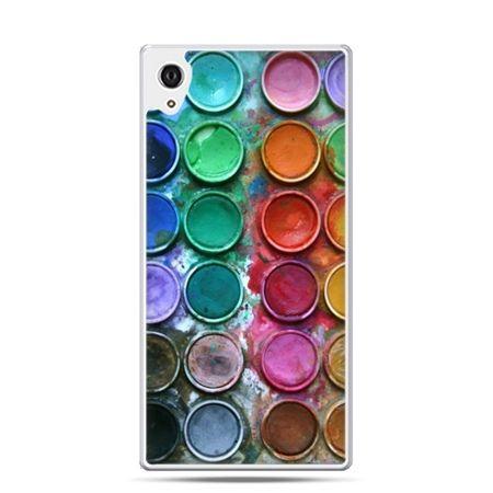 Etui na telefon Sony Xperia XA - kolorowe farbki