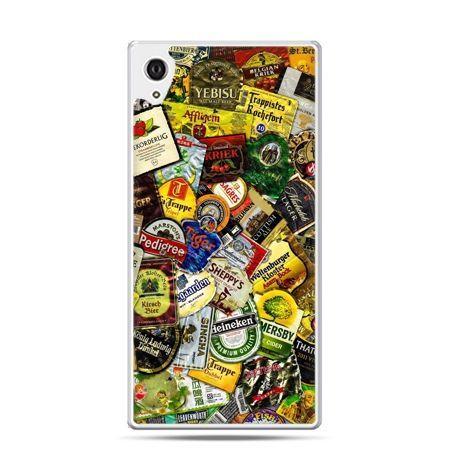 Etui na telefon Sony Xperia XA - etykiety