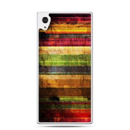Etui na telefon Sony Xperia XA - kolorowe deski
